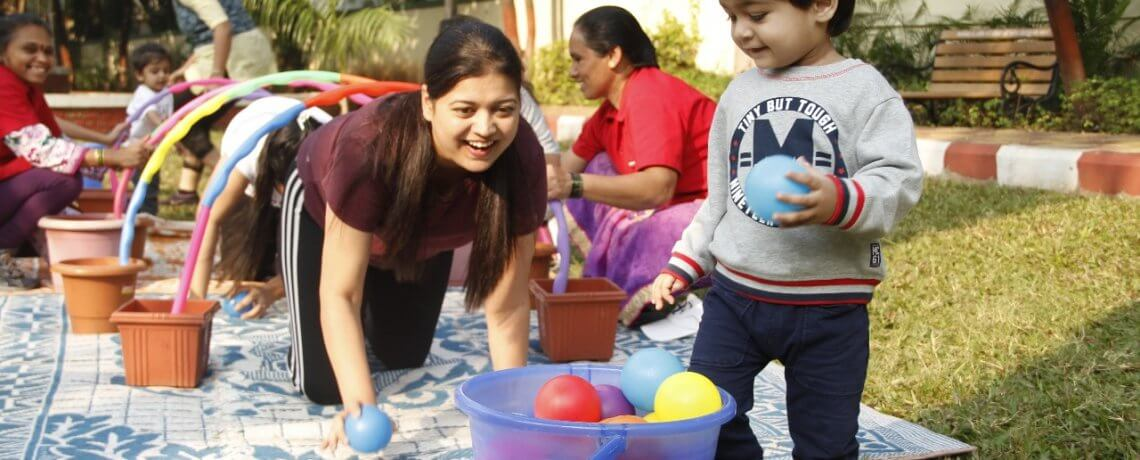 Creative Activities at Jumpstart Preschool Aundh Pune