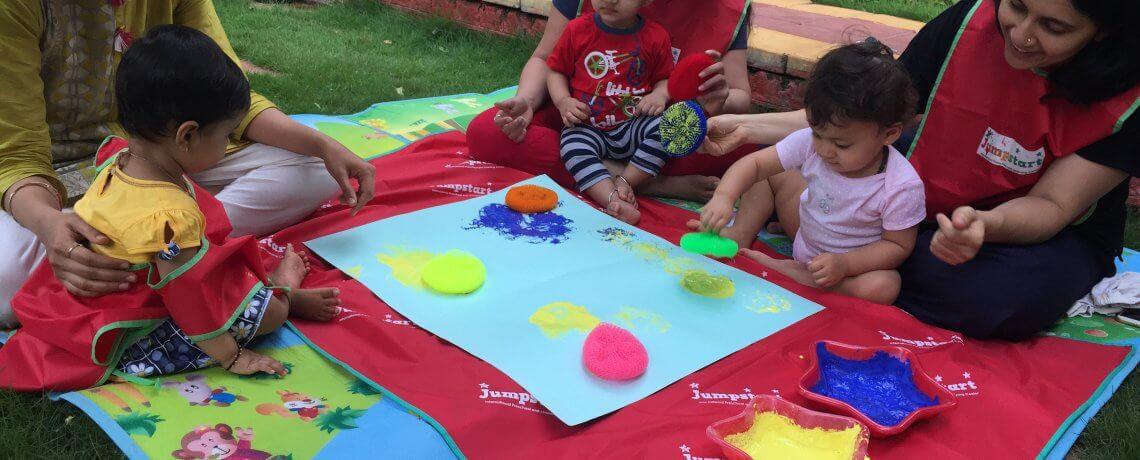 Creative Activities at Jumpstart Preschool Baner Pune