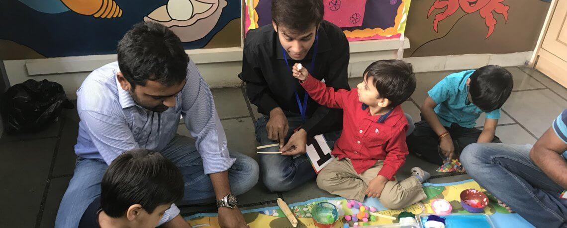 Parent Toddler Activities at Jumpstart Preschool Pune
